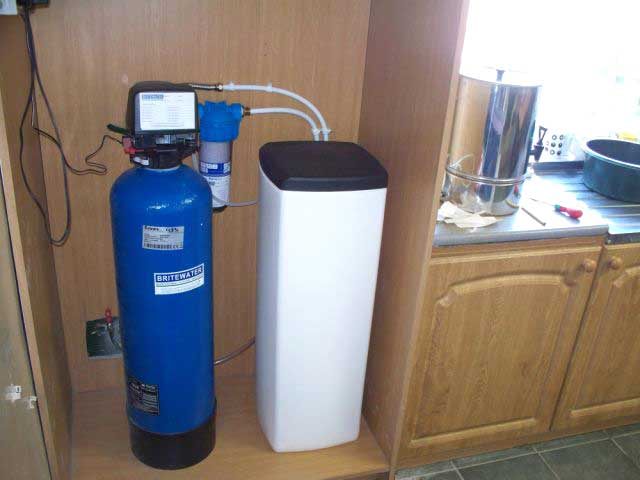 Roadstone Quarry Simplex Water Softner Installation