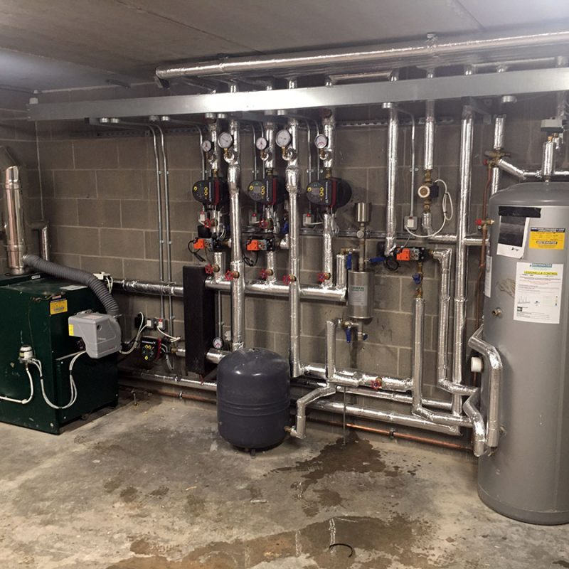 Closed System Pre Commission Flushing